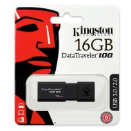 Pen Drive 16GB USB 3.0 DataTraveler G4 - Kingston DT100G3/16GB
