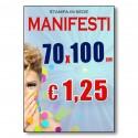 Manifesti 70x100cm in Alta Risoluzione HD Ulta Brillanti