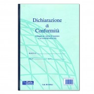 Dichiarazioni di Conformità (Allegato sui sistemi di impianto e sui materiali utilizzati) - Gruppo Buffetti DU1426,1