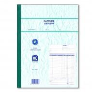 Fatture 1 Aliquota blocco 50 moduli 29,7x21 due copie autoricalcanti blocchetto ricevute Data Ufficio 490/C - Gruppo Buffetti
