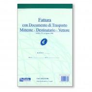 Fattura con Documento di Trasporto 14.8x21.5 - Gruppo Buffetti 1222,1N Ric