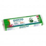 Patplume Verde Chiaro plastilina da modellare panetto da 350g (5x50g) - Giotto Fila 510108