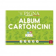 Album Cartoncini Colorati Kids 24x33 10 Fogli 170gr - Pigna 0047477AS