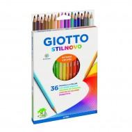 Pastelli stilnovo Astuccio da 36 - Giotto Fila
