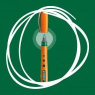 Penna Roller Verde Stabilo Bionic Worker punta fine 0.3mm con cappuccio - Stabilo 42167600
