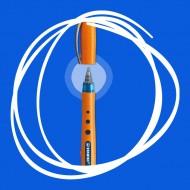 Penna Roller Blu Stabilo Bionic Worker punta fine 0.3mm con cappuccio - Stabilo 42167624