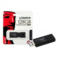 Pen Drive 128GB USB 3.0 DataTraveler 100 G3 - Kingston DT100G3/128GB