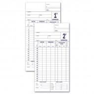 Scheda Presenze per Orologio (controllo quindicinale) - Multiart 0131.1