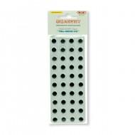 Occhi Rotondi 12mm confezione da 40 pezzi - Wiler EY12A