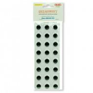 Occhi Rotondi 20mm confezione da 24 pezzi - Wiler EY20A