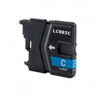 BROTHER LC985 CY inkjet cartridge ciano compatibile