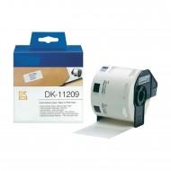 Brother DK-11209 Rotolo 800 etichette bianche mm.62x29 compatibile