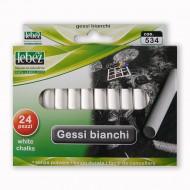 Gessi Bianchi Tondi Scatola da 24 pezzi - Lebez 534