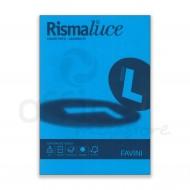 Carta Colorata Azzurro 55 Formato A4 200g Rismaluce 125 Fogli - Favini A67G104