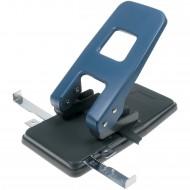 Perforatore a 2 Fori per Alti Spessori con Doppia Guida Autocentrante - PU340