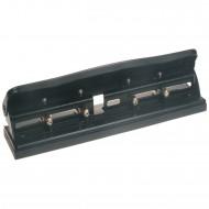 Perforatore a 4 fori regolabili per 2, 3 e 4 fori per fogli A4 e A3 solo lato corto PU4888R