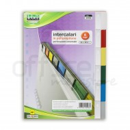 Intercalari in PP 22x29.5cm 6 fogli - Lebez 5406