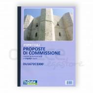 Proposte di Commissione 33 Fogli Triplice Copia Autoricalcante 29.7x21.5cm - Gruppo Buffetti DU1672C3300