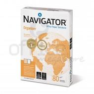 Risma Carta Navigator Organizer A4 80g 500 Fogli Con 4 Fori Laterali - Navigator 3156