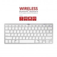 Tastiera QWERTY wireless bluetooth Keyboard per PC, laptop, tablet & smartphone - Trust 22246-03
