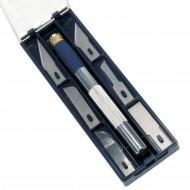 Cutter Metallo con 6 tipi di lame Sagomate - C902