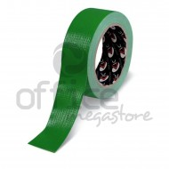 Nastro Adesivo Telato plastificato Verde 38mm x 25m Lc Adesivi 1008871