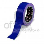 Nastro Adesivo Telato plastificato Blu 38mm x 25m LC Adesivi 1000144