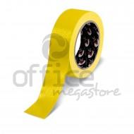 Nastro Adesivo Telato plastificato Giallo 38mm x 25m LC Adesivi 1008875