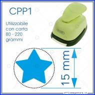 Fustella a leva perforatore craft punch per carta fustelle a mano per fustellare  sagome di cartoncino forma Stella CPP102