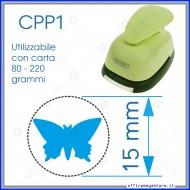 Fustella a leva perforatore craft punch per carta fustelle a mano per fustellare  sagome di cartoncino forma Farfalla CPP107