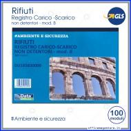 Blocco Carico-Scarico Rifiuti Per non Detentori (mod. B) 100 moduli Gruppo Buffetti DU165830000
