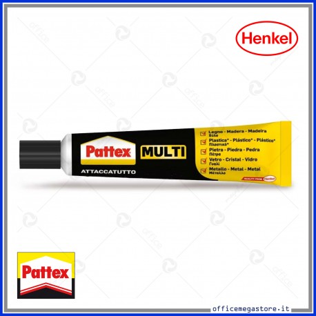 Colla PATTEX Multi Attaccatutto 20ml gel in tubetto Henkel 1624103 / 1604262