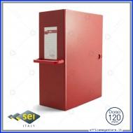 Scatola archivio Rosso Dorso 12cm Big 120 25x35cm con maniglia Sei Rota 68001212