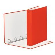 Raccoglitore Meeting 4 Anelli Tondi mm.30 in PP Rivestito Colore Rosso - 579230