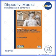 Dispositivi Medici: Dichiarazioni di Conformità Gruppo Buffetti DU1622D0033