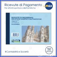 Ricevute di Pagamento per Attività Sportive Dilettantistiche Gruppo Buffetti DU162580000