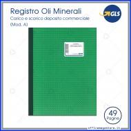 Registro Oli Minerali Mod. A ,Carico-Scarico Assoggettati ad accisa depositi commerciali Gruppo Buffetti DU1366A0000