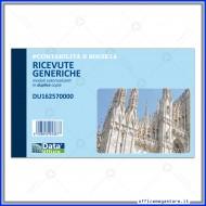 Ricevute Generiche di Denaro duplice copia Gruppo Buffetti DU162570000