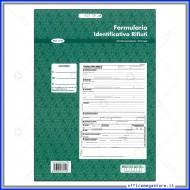 Formulario di Indentificazione Rifiuti Blocco A4 25x4 copie autocopianti Multiart mod.1102