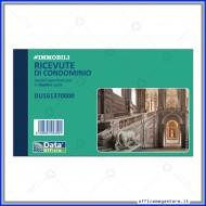 Blocco Ricevute di Condominio 50 Fogli Duplice Copia  - Gruppo Buffetti DU161370000