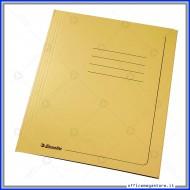 Cartelline 3 lembi 25 cartelle manilla Giallo 295 gr con alette per ufficio Esselte 55131