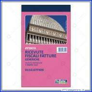 Ricevute fiscali - Fatture (ric. fiscali) Generiche 50 fogli duplice copia autoricalcante - Gruppo Buffetti DU16107FN00