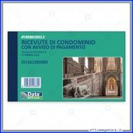Blocco Ricevute di Condominio con Avviso di Pagamento 33 Fogli Triplice Copia Gruppo Buffetti DU161383300