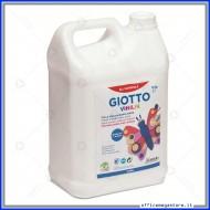 Colla vinilica bianca forte per la classe flacone 5Kg Giotto Vinilik 543400