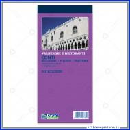 Blocco Conti Ristoranti - Pizzerie - Trattorie 50 Fogli Gruppo Buffetti DU1621C0000