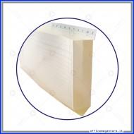 Scheda a busta rigata con Rubrica A-Z F.to A5 (21x14,8 cm) Gruppo Buffetti data ufficio 1530,1B