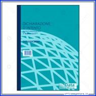 Dichiarazione D'Intento 50 fogli in Duplice Copia 29.7x21.5 Gruppo Buffetti DU1609C0000