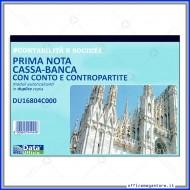 Primanota Cassa - Banca con Conti e Contropartite Gruppo Buffetti DU16804C000