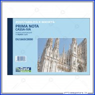 Prima nota Cassa IVA (Entrate - Uscite - Partite Fuori Cassa) in duplice copia Gruppo Buffetti DU1665C0000