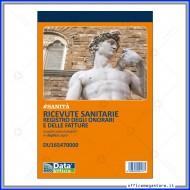 Ricevute Sanitarie Registro degli Onorari e delle Fatture Blocco 50 Moduli a 2 Copie Gruppo Buffetti DU165470000